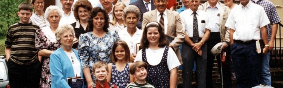 11 Alley's Chapel Sunday Schoool Class in June 2, 1996